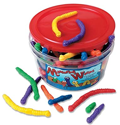 Learning Resources Measuring Worms (Set of 72)