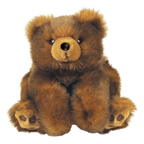 Baby Minky Brown Teddy Bear - 12