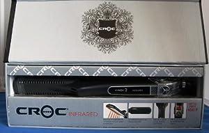"Croc/Turbo Ion INFRARED Digital Flat Iron 1"" 2010"
