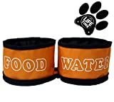 [SPECIAL OFFER TODAY] ✮Best Dog Bowl on Amazon by GoPets✮ Feed Your Pet When Traveling | Collapsible Travel Food & Water Bowls For Feeding Dogs & Cats When Eating & Drinking | Satisfaction Guarantee