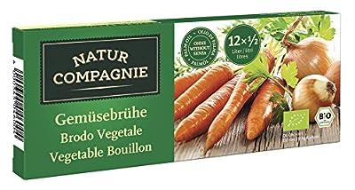 Natur Compagnie Bio Klare Gemüsebrühe, 12 Würfel (1 x 126 gr) von Natur Compagnie GmbH auf Gewürze Shop