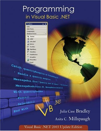 Programming in Visual Basic. NET: Update Edition for VB. NET 2003 w/ 5-CD VB. Net 2003 Software Set (Programming In Julia compare prices)