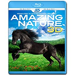 Amazing Nature 3D (Blu-ray 3D & 2D Version) REGION FREE