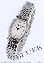 Longines La Grande Classique Steel & Diamond Womens Luxury Watch Mother-of-Pearl Dial L4.288.0.09.6
