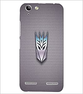 PrintDhaba Transformer Logo D-1710 Back Case Cover for LENOVO VIBE K5 PLUS (Multi-Coloured)