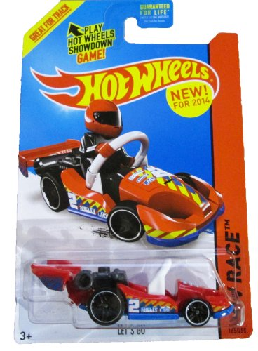 Hot Wheels - 2014 HW Race - 165/250 - Track Aces - Let's Go - 1