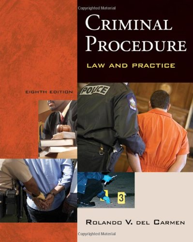 Criminal Procedure: Law and Practice