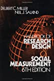 img - for Handbook of Research Design and Social Measurement book / textbook / text book