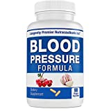 Longevity Blood Pressure Formula -Scientifically formulated with 15+ Natural Herbs. Best Blood Pressure Supplement