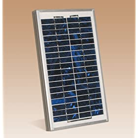 5 Watt 12 Volt Solar Power Portable Panel PV Photovoltaic Good for: RV Car Truck Marine Off Grid Battery Charger Cell Phone Laptop Water Pump Gate