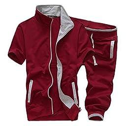 Magiftbox Summer Sweat Shirts & Shorts For Boys Mens