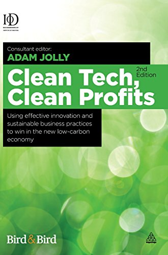Clean Tech, Clean Profits: Using Effective Innovation and Sustainable Business Practices to Win in the New Low-carbon Ec