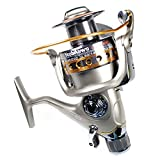 Yoshikawa Carp Sea Fishing Spinning Reel Baitrunner Aluminum Spool Handle 11 Ball Bearings 6000 5.5:1