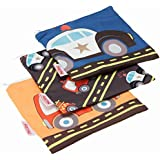 NUBY Reusable Snack Bag, Cars