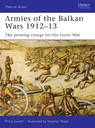 Armies of the Balkan Wars 1912-13: The Priming Charge for the Great War (Men at Arms Series) (Men-At-Arms (Osprey))