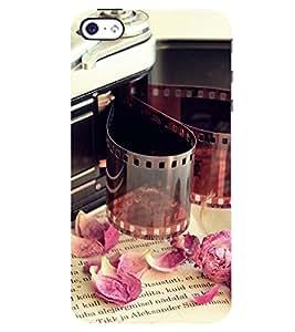 D KAUR Negative & Cam Back Case Cover for Apple I Phone 4::Apple I Phone 4