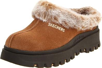 Skechers Women's Fortress Clog,Chestnut,5M