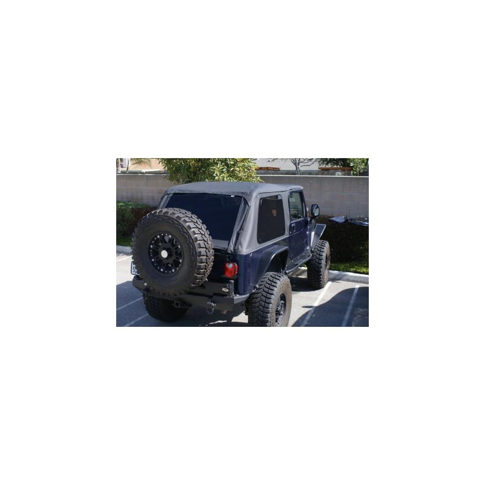 Jeep Wrangler Unlimited lj Soft top trek Frameless New