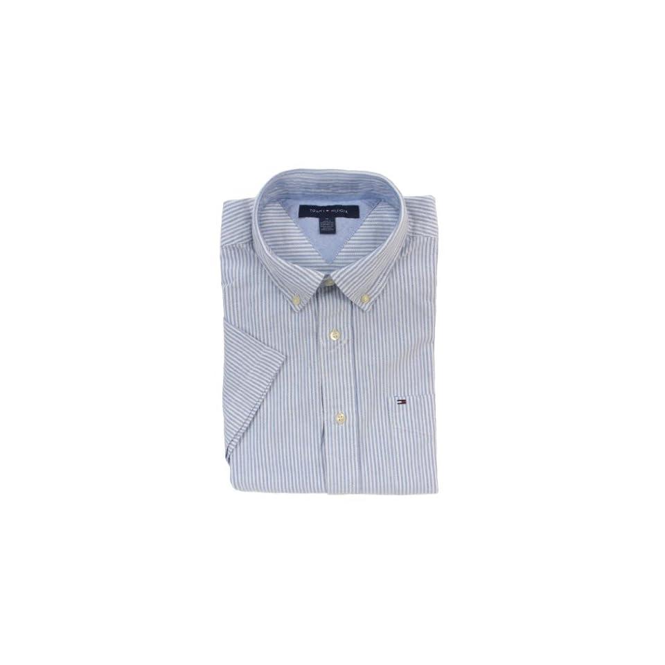 Tommy Hilfiger Men Short Sleeve Logo Shirt