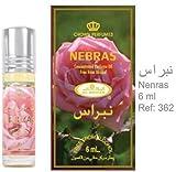 Nebras - 6ml (.2 oz) Perfume Oil by Al-Rehab (Crown Perfumes)