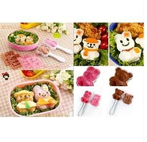 Amazon.com: Japan Bear Rabbit Emoticon Dressing Up Cutter