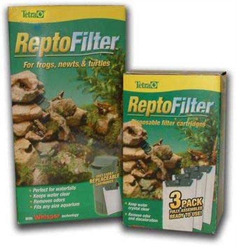 Tetra ReptoFilter Disposable Filter Cartridges, Medium, 3 Pack