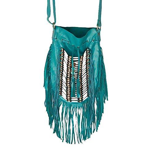 turquoise-boho-bag-real-leather-fringe-purse-bohemian-bags-hobo-tote-handbag