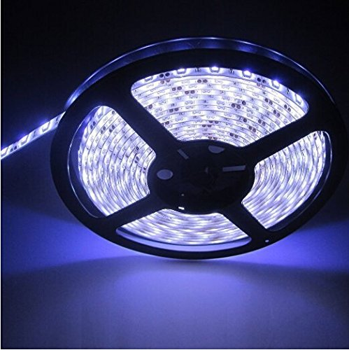 Led Strip Light, Waterproof Led Flexible Light Strip 12V With 300 Smd Led, 3258 16.4 Foot / 5 Meter (Waterproof)