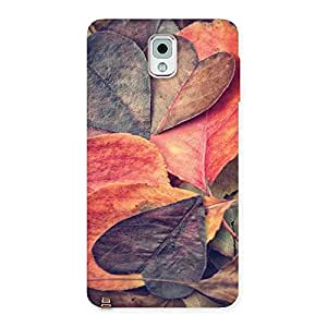 Unicovers Dry Leafs Back Case Cover for Galaxy Note 3