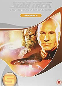 Star Trek: The Next Generation - Season 5 (Slimline Edition) [Import anglais]