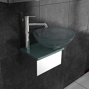 m bel aus glas milchglas waschplatz designer. Black Bedroom Furniture Sets. Home Design Ideas