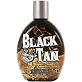 Millenium Tanning BLACK & TAN BRONZER 75x Indoor Tanning Bed Lotion 13.5OZ with optional FREE Tanning Tattoo Stickers