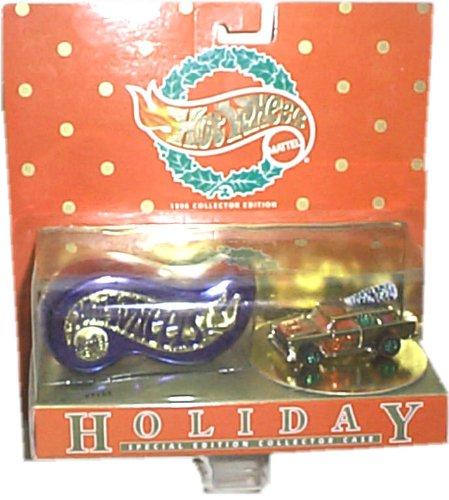 "Hot Wheels Holiday - 1996 Collector Edition/Special Edition Collector Case - ""Tannenbomb"" Vehicle Replica"