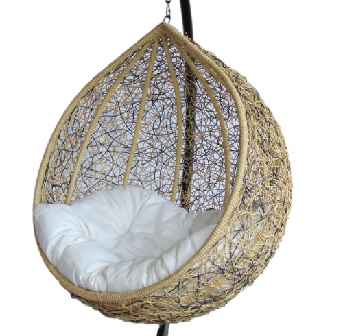 Trully - Outdoor Wicker Swing Chair - The Great Hammocks KD003AB photo