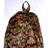 Swiss Military Camo Bad Weather Rain Poncho New by