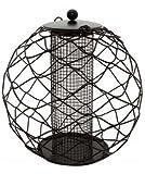 CIRCULAR SQUIRREL PROOF PEANUT FEEDER GARDEN SAFE BIRD FEEDING STATION BF105
