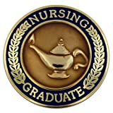 Nursing Graduate Pin - Navy Blue