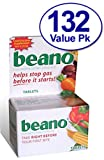 132 Count Beano Tablets - Food Enzyme Dietary Supplement