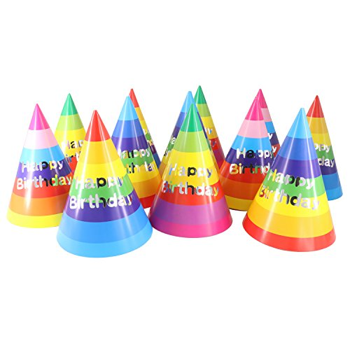Birthday-Party-Hats-for-Kids-Birthday-Party-Supplies-Rainbow-Party-Hats-for-Boys-Girls-and-Adults-12-PCS