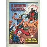 El Guerrero del Antifaz color numero 065: La derrota de Hassan (numerado 2 en trasera)