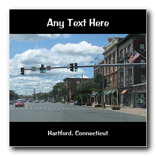 hartford-connecticut-personalised-coaster