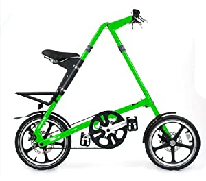 Strida LT Folding Bike, Neon Green