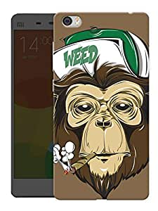 "Humor Gang Grass Monkey Printed Designer Mobile Back Cover For ""Xiaomi Redmi Mi5"" (3D, Matte, Premium Quality Snap On Case)"