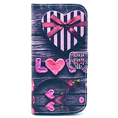 M8 Case,HTC One M8 Case,Nancy's Shop Pattern Premium Pu Leather Wallet [Stand Feature] Type Magnet Design Flip Protective Credit Card Holder Pouch Skin Case Cover for HTC One M8(built-in Credit Card/id Card Slot)-
