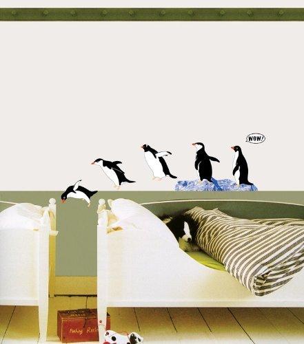 ウォールステッカー ペンギン