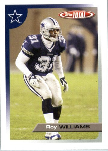 2005 Topps Total Football Karte ( ) # 236 Roy Williams Dallas Cowboys