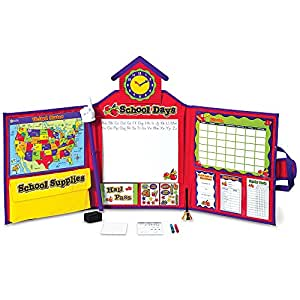 Learning Resources Pretend & Play School Set, Frustration Free Packaging