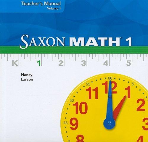 Saxon Math 1, Volume 1, Teacher's Manual