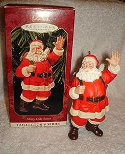 1999 Hallmark Keepsake Ornament Merry Olde Santa