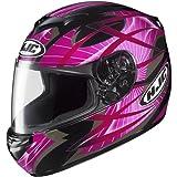 HJC Storm Women's CS-R2 Street Motorcycle Helmet - MC-8 / Small